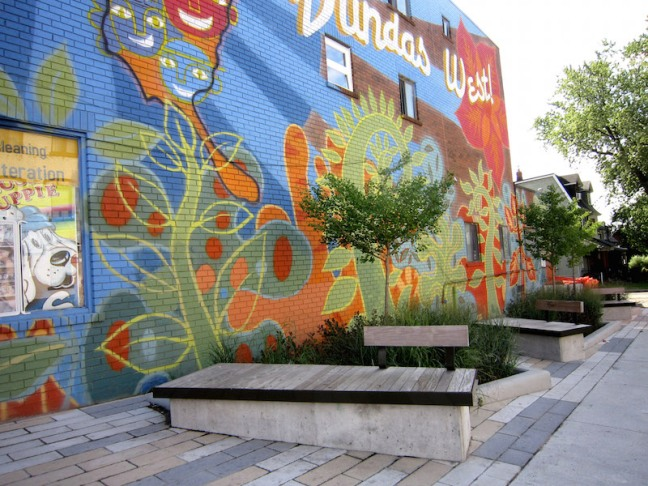 Dundas West Streetscape improvements_PMA Landscape Architects