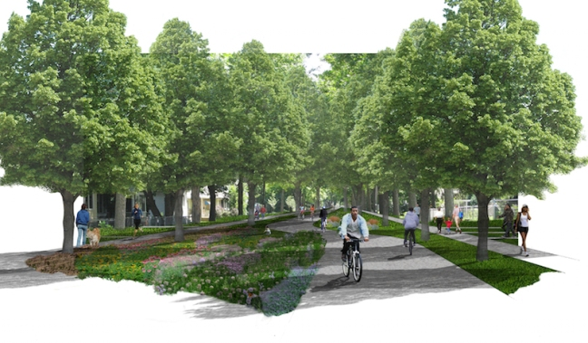 North Minneapolis Greenway Concept_City of Minneapolis:SRF Consulting Group