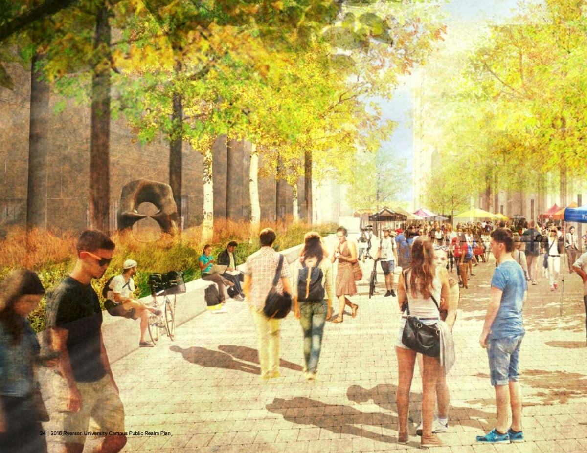 Ryerson University Public Space Plan Leads The Way For