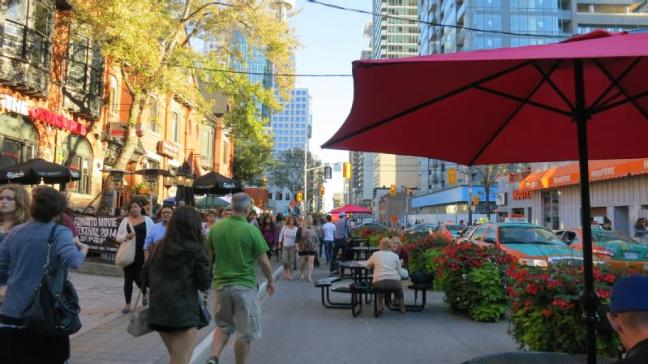 John St pilot sidewalk extension crowded peds_featured_800wide.jpg